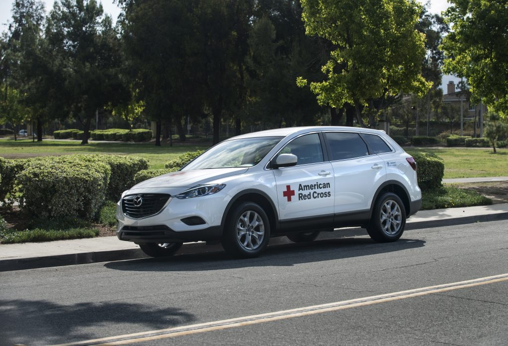 American Red Cross Mazda